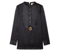 Milagro Verzierte Bluse aus Seidensatin