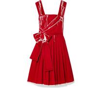 Bedrucktes Kleid aus Baumwollpopeline