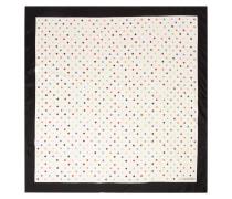 Tuch aus Seiden-twill mit Polka-dots