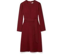 Kleid aus Voile mit Bindegürtel