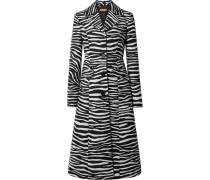 Mantel aus Woll-jacquard