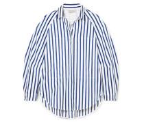 Ottilie Gestreiftes Hemd aus Baumwollpopeline