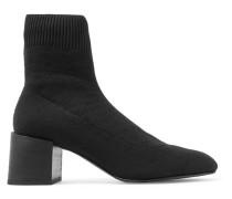 Sock Boots aus Rippstrick
