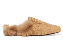 Princetown Slippers aus Shearling