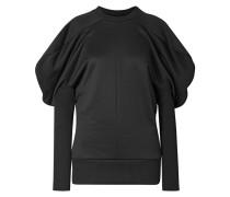 Geripptes Sweatshirt aus einer Baumwollmischung