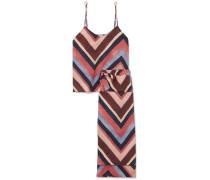 Bedruckter Pyjama aus Baumwoll-voile
