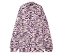 Oversized-cardigan aus Wolle
