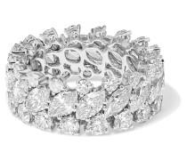 Ring aus 18 karat  mit Diamanten