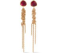 Waterfall Ohrringe aus 18 Karat  mit Rubinen