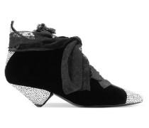 Blaze Ankle Boots aus Samt