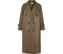 Oversized-trenchcoat aus Wolle