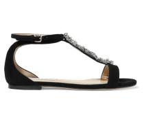 Averie Sandalen aus Veloursleder