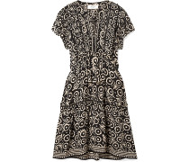 Emi Gerüschtes Kleid aus Voile