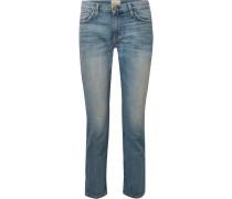 The Fling Schmale Halbhohe Boyfriend-jeans