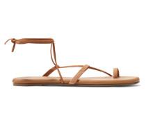 Jo Sandalen aus Veloursleder und Leder