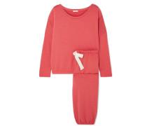 Winter Heather Pyjama aus Stretch-modal-jersey
