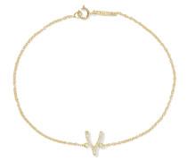 Wishbone Armband aus 18 Karat  mit Diamanten
