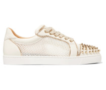 Ac Vieira Spike Sneakers aus Leder und Mesh
