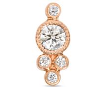 Ohrring aus 18 Karat  mit Diamanten