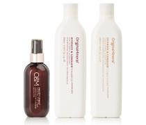 Hydrate & Conquer + Frizzy Shine Spray – Haarpflegeset