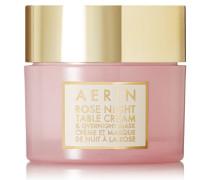 Rose Night Table Cream And Overnight Mask – Gesichtsmaske