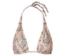 Nusa Bia Verziertes Triangel-bikini-oberteil