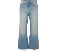 The Rider Verkürzte, Hoch Sitzende Jeans