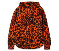 Oversized Hoodie aus Baumwoll-jersey