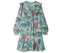 Camilla Bedrucktes Minikleid aus Seiden-georgette