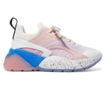 Eclypse Sneakers aus Velourslederimitat, Kunstleder und Neopren