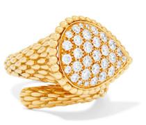 Serpent Bohème Ring aus 18 Karat  mit Diamanten