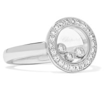 Happy Diamonds Ring aus 18 Karat  mit Diamanten