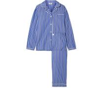 Bishop Pyjama aus Gestreifter Baumwolle