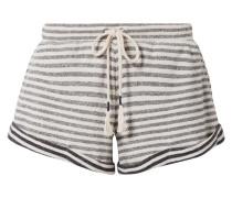 Clooney Pyjama-shorts aus Gestreiftem Baumwoll-jersey