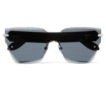 Sonnenbrille in D-rahmenform