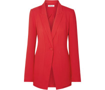 Blazer aus Stretch-crêpe
