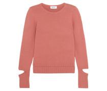 Pullover aus einer Baumwollmischung