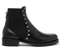 Garavani Rockstud Chelsea Boots aus Leder
