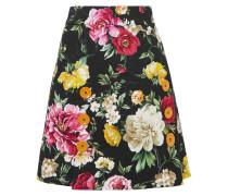 Floral Bedruckter Minirock aus Jacquard