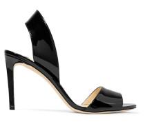 Sheila 85 Slingback-sandalen aus Lackleder