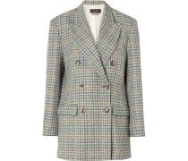 Telis Oversized-blazer aus Kariertem Tweed