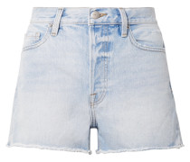 Rigid Re-release Le Original Jeansshorts in Distressed-optik