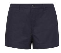 Shorts aus Baumwollpopeline