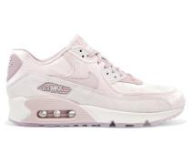Air Max 90 Lx Sneakers aus Samt und Veloursleder