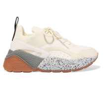 Eclypse Sneakers aus Kunstleder und Velourslederimitat