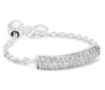 Fiji Ring aus Sterling mit Diamanten