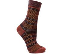Moorland Karierte Socken aus einer Baumwollmischung