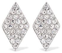 Ohrringe aus 14 karat  mit Diamanten