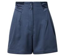 Shorts aus Piqué aus einer Seiden-wollmischung