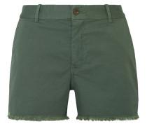 Carpenter Gefranste Shorts aus Twill aus Stretch-baumwolle